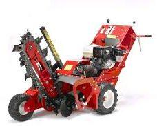 Harrisons Hiremaster Wanganui Machinery Trencher